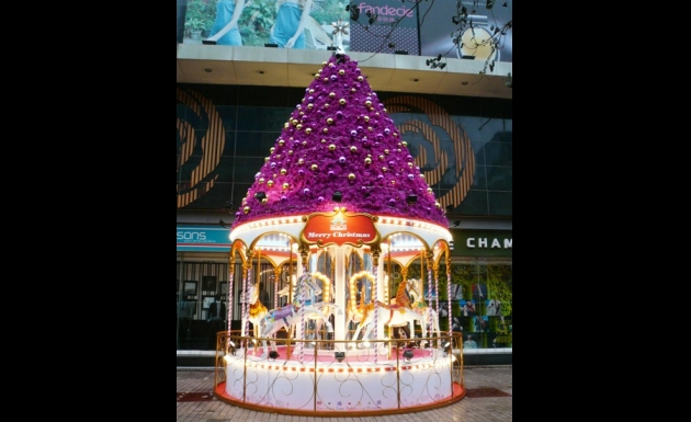 "NWDS Organizes The ""X'mas Merry-go-round"" Activities To"