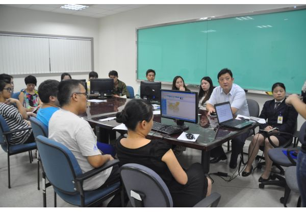 Office Automation System Training for Mainland Staff