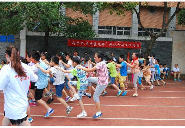 """NWDS Inaugurates """"Volunteer Month"""" 340 Volunteers Nationwide Play """"Dragon Boat Racing"""" Game  with About 900 Under-resourced Children"""