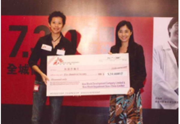 """NWDS Raises HK$300,000 for """"MSF Day 2007″"""